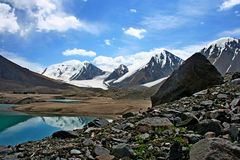 Tien Shan mountains, Kyrgyzstan Stock Images