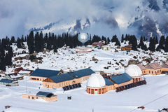 Tien Shan Observatory Royalty Free Stock Image