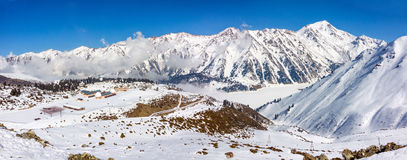 Tien Shan Observatory Royalty Free Stock Images