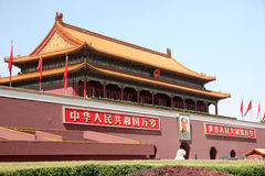 Tienanmen门 免版税库存照片