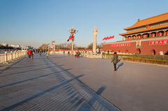 Tienanmen Gate (The Gate of Heavenly Peace). Beijing. China Stock Photos