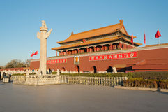 Tienanmen Gate (The Gate of Heavenly Peace). Beijing. China Royalty Free Stock Photo