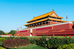Tienanmen Gate Of Heavenly Peace in Beijing, China Royalty Free Stock Photo