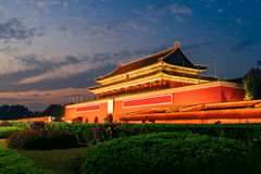 Tienanmen Gate Of Heavenly Peace in Beijing, China Stock Image