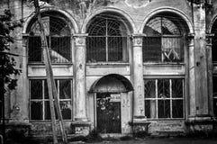 Tienda abandonada vieja Fotos de archivo