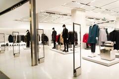 Tienda al por menor Concepto de la moda y de las compras fotografía de archivo libre de regalías