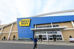 Tienda al por menor de Best Buy en Portland, los E.E.U.U. foto de archivo