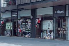 Tienda al por menor de Jurlique en China foto de archivo libre de regalías