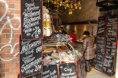 Tienda alemana típica Fotografía de archivo libre de regalías