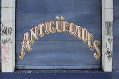 Tienda antigua en Valparaiso Fotografía de archivo libre de regalías