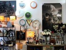 Tienda casera de la decoración foto de archivo