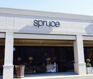 Tienda casera Spruce de la decoración, Memphis, TN Fotografía de archivo libre de regalías