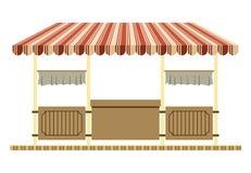 Tienda comercial stock de ilustración