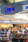 Tienda con franquicia DFA Foto de archivo