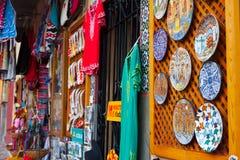 Tienda con los recuerdos turísticos en Córdoba Imagenes de archivo
