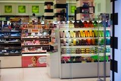 Tienda cosmética Foto de archivo