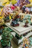 Tienda cristalina de la artesanía del ` s de China Fotografía de archivo