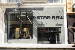 Tienda cruda de la G-estrella en San Francisco Imagen de archivo libre de regalías