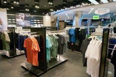 Tienda de Adidas foto de archivo libre de regalías