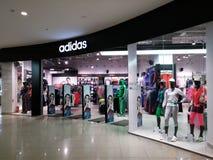 Tienda de Adidas imágenes de archivo libres de regalías