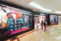 Tienda de Adidas en Suria KLCC, Kuala Lumpur Fotos de archivo