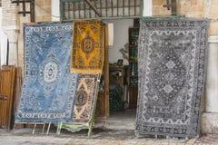 Tienda de alfombras foto de archivo libre de regalías