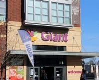 Tienda de alimentación gigante Fotografía de archivo