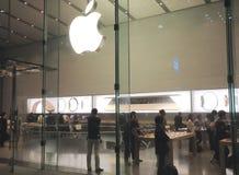 Tienda de Apple Computer Imágenes de archivo libres de regalías