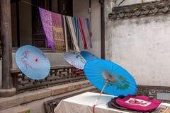 Tienda de artes de la ciudad de Jiangsu Wuxi Huishan Imagenes de archivo