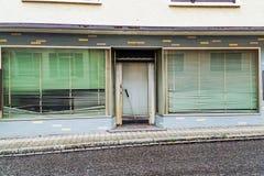 Tienda de Bankcrupty Fotografía de archivo libre de regalías