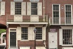 Tienda de Ben Franklin Printing fotos de archivo