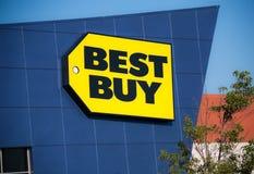 Tienda de Best Buy Foto de archivo libre de regalías