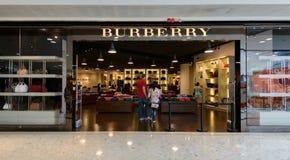 Tienda de Burberry en el mercado de la puerta de la ciudad Fotografía de archivo