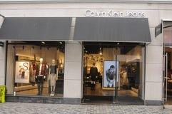 Tienda de Calvin Klein Jeans imagenes de archivo