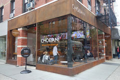 Tienda de Chobani Foto de archivo