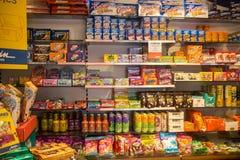 Tienda de chucherías Fotos de archivo libres de regalías
