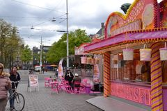 Tienda de chucherías/Den Haag Fotografía de archivo libre de regalías