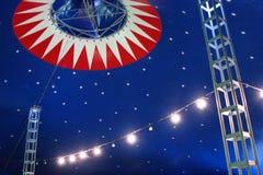 Tienda de circo Foto de archivo libre de regalías