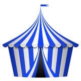 Tienda de circo azul libre illustration