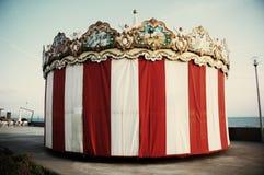 Tienda de circo vieja Imágenes de archivo libres de regalías