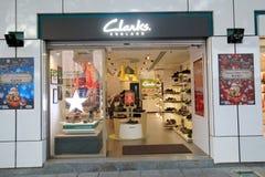 Tienda de Clarks en el kveekoong de hong Fotos de archivo