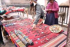 Tienda de Cusco Foto de archivo libre de regalías