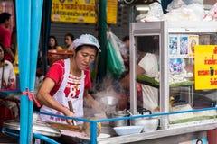 Tienda de delicatessen china en Chinatown, Bangkok Fotos de archivo