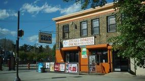 Tienda de delicatessen de Belfield en Philadelphia Imágenes de archivo libres de regalías