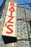 Tienda de delicatessen de Katz Fotografía de archivo libre de regalías