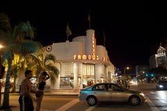 Tienda de delicatessen famosa de Jerrys en Miami del sur Foto de archivo