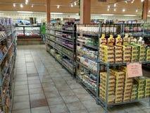 Tienda de delicatessen polaca en América Foto de archivo libre de regalías