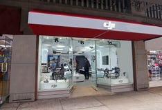 Tienda de DJI en NY Foto de archivo