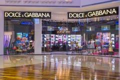 Tienda de Dolce & Gabbana Foto de archivo libre de regalías