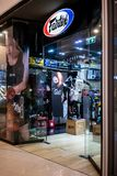 Tienda de Fairtex en Bangna mega, Bangkok, Tailandia, el 8 de abril de 2018 imagen de archivo